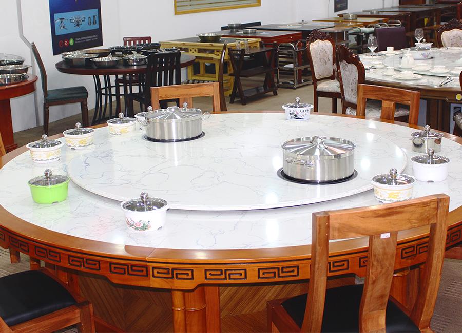 Z107电动餐桌椅电动酒店餐桌