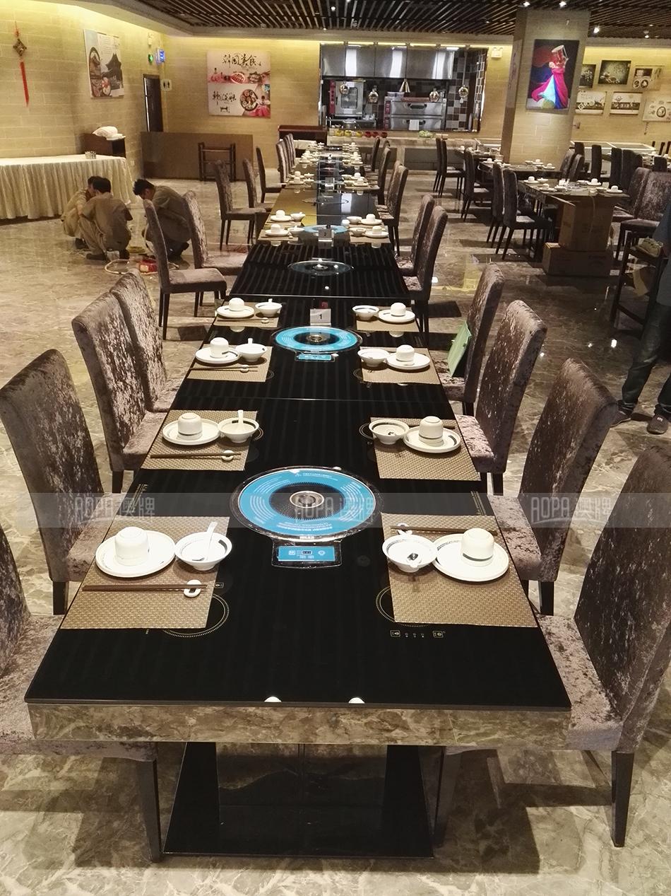 Z46不锈钢桌架-玻璃桌面隐藏式桌面(烤涮一体)2.jpg